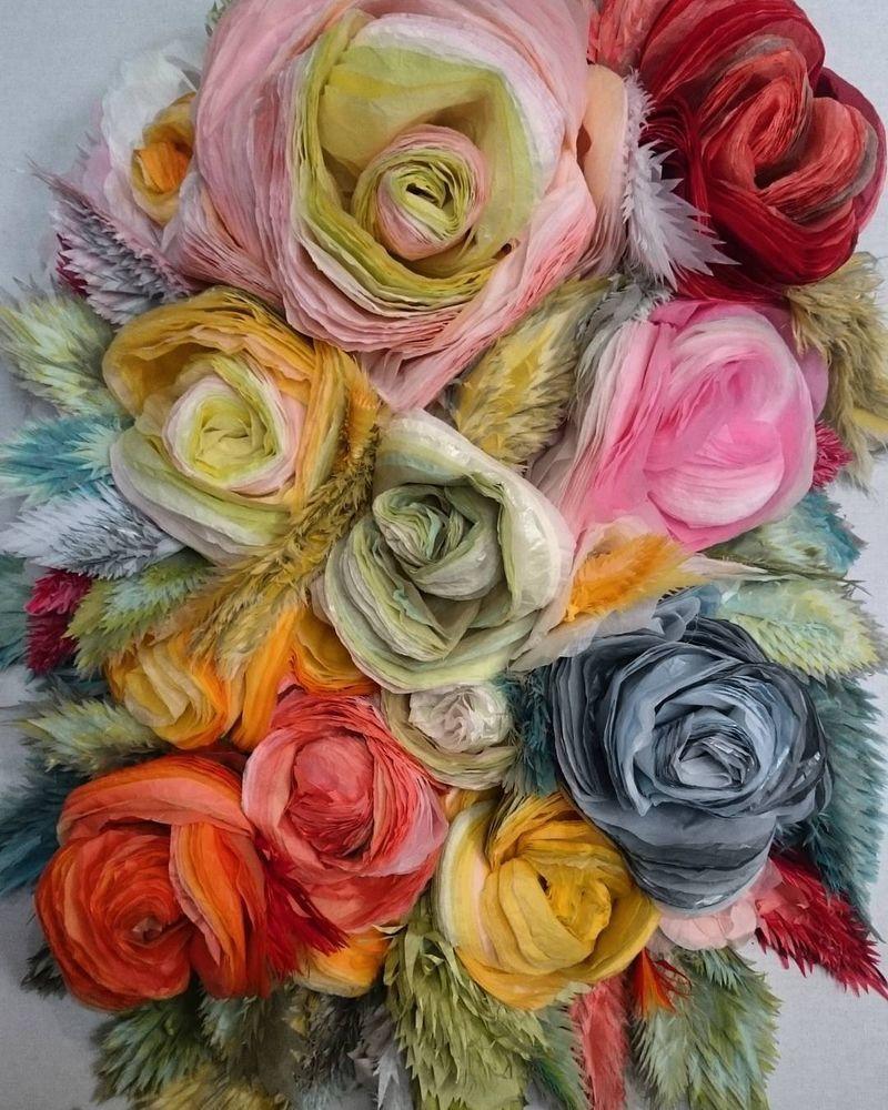 Потрясающие бумажные цветы датской художницы arianne riksen-cott ansen, фото № 10