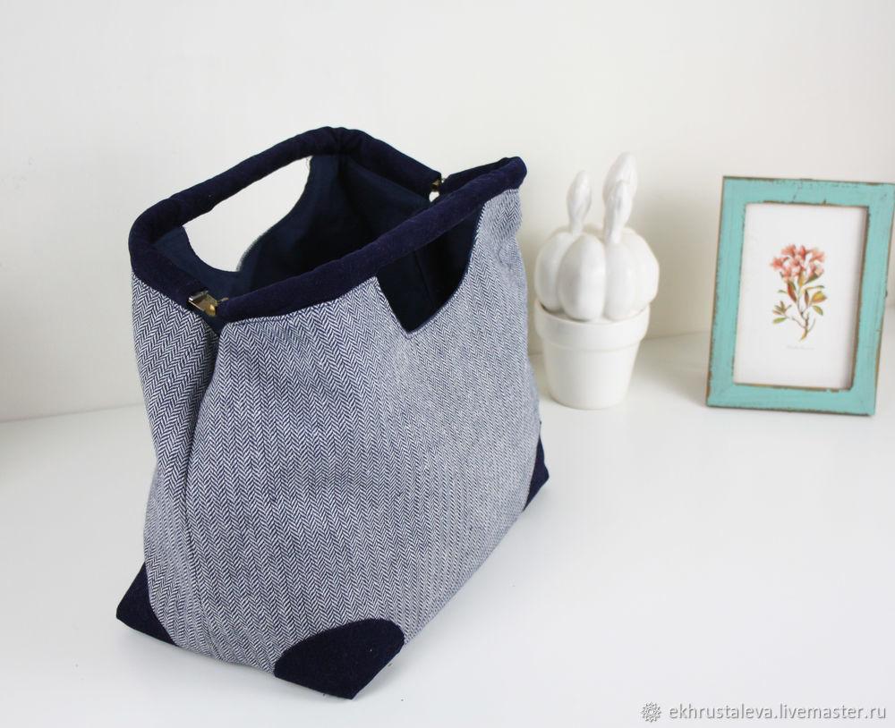 Шьем сумку с внутренним каркасом, фото № 3