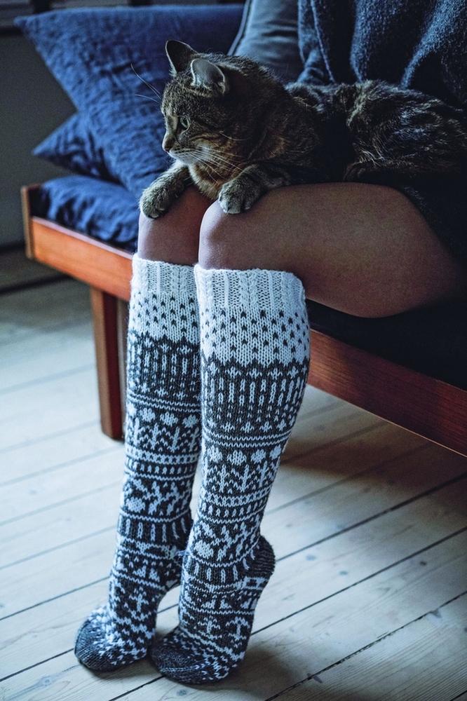 К зиме готовы! 50 идей вещей для вязания спицами, фото № 44