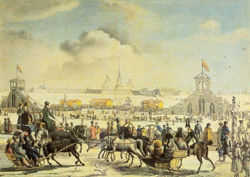 Зимние забавы до революции. Часть 5, фото № 16