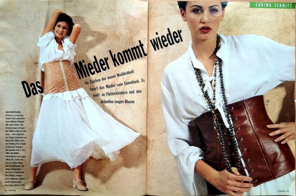 Carina № 5/1994. Фото моделей, фото № 3