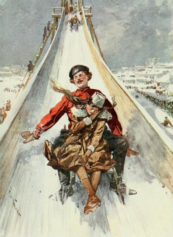 Зимние забавы до революции. Часть 5, фото № 23