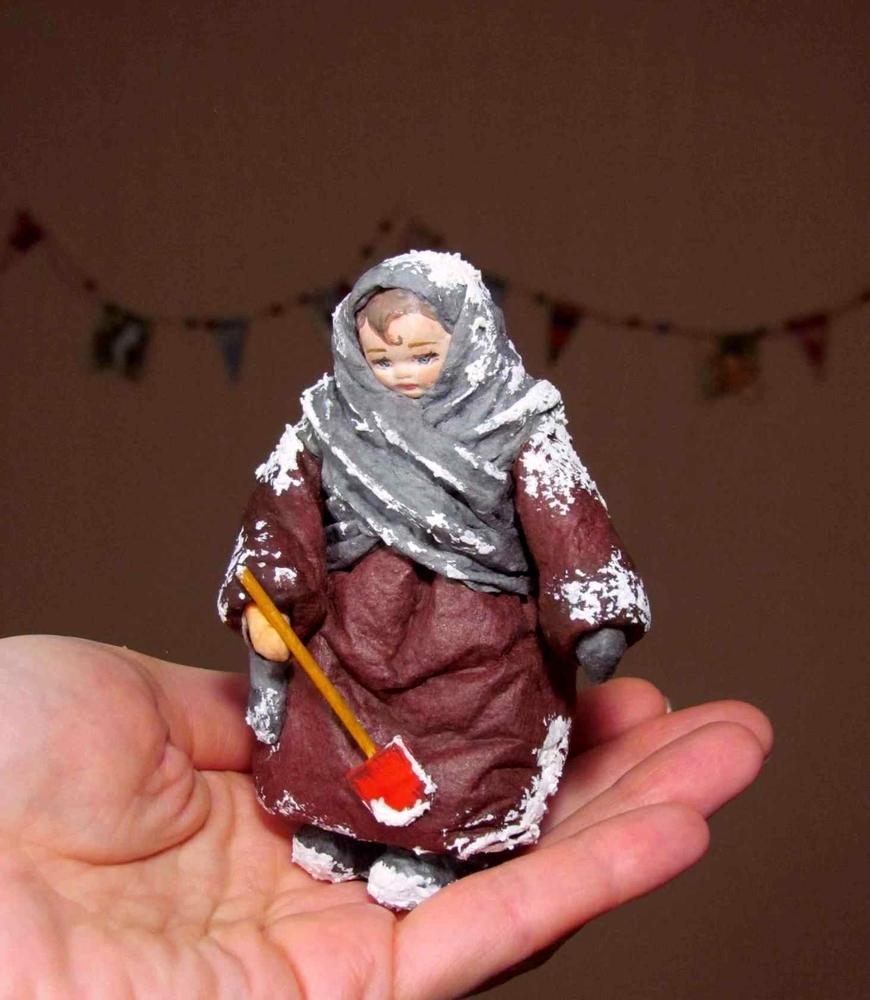 МК в Москве — Елочная игрушка из ваты, фото № 2