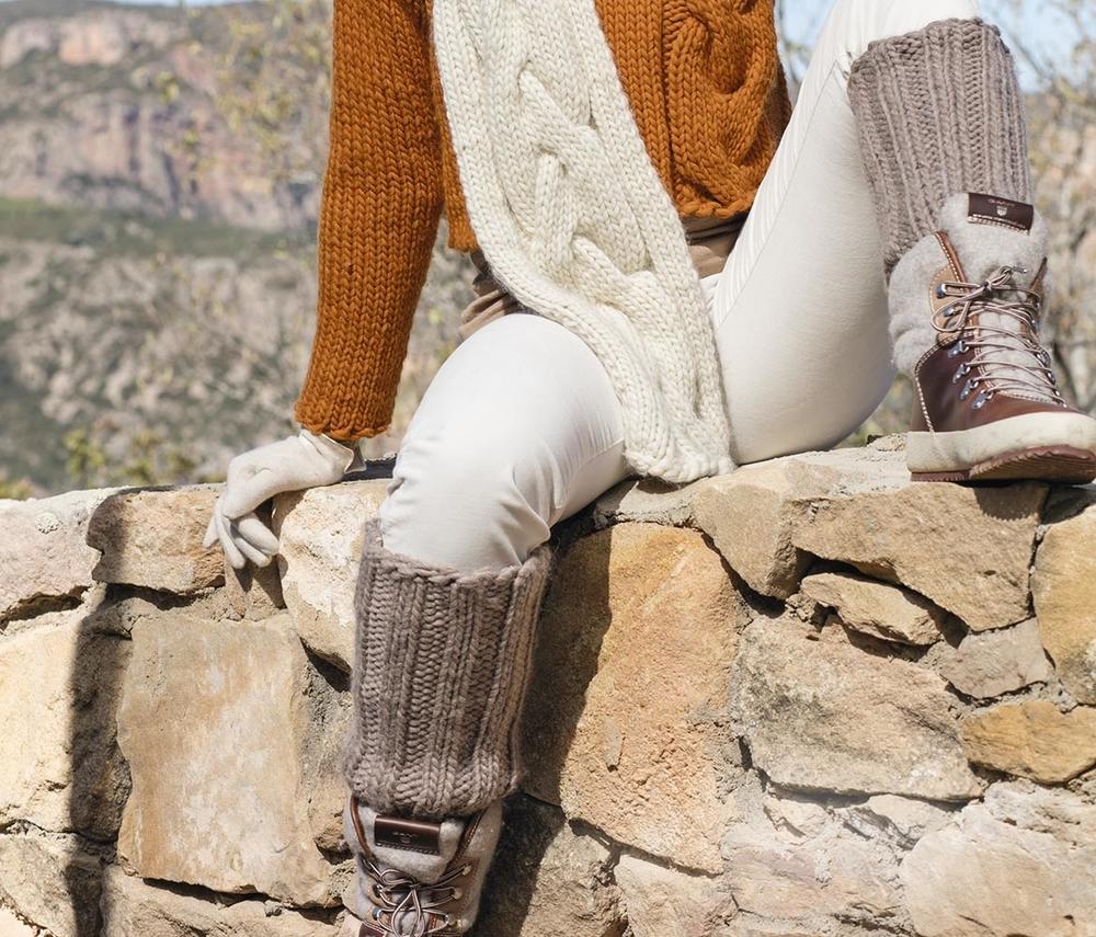 К зиме готовы! 50 идей вещей для вязания спицами, фото № 37