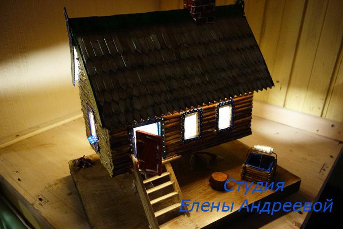 домик светильник