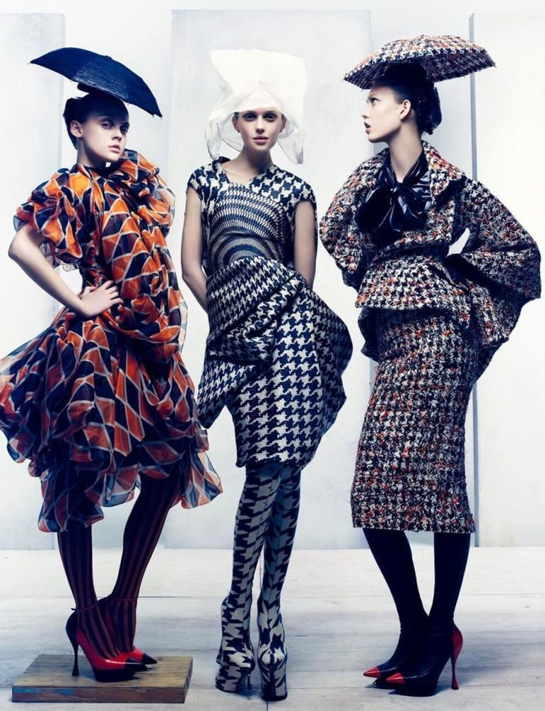 креативные одежда женская фото норки цвета махагон