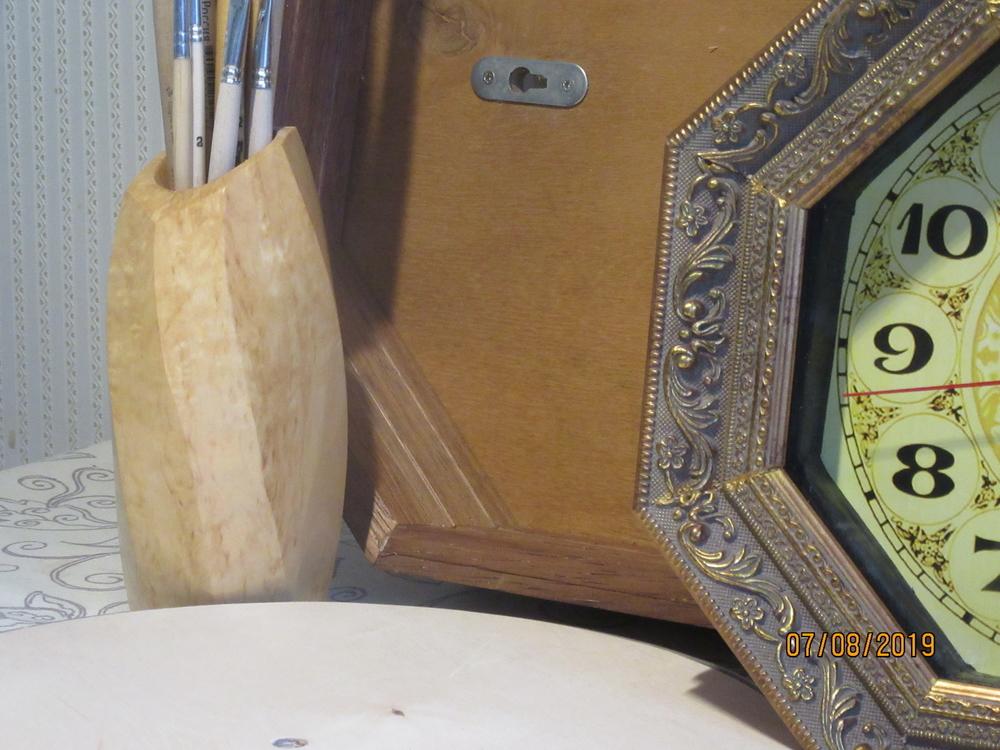 Настенные часы из дерева, фото № 2
