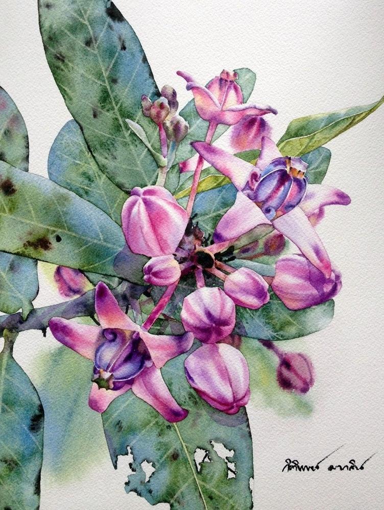 Watercolour Virtuoso: Kitipong Ti, фото № 15
