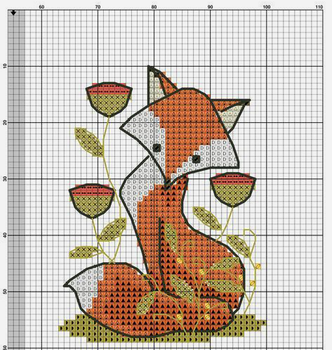 In Love With Autumn: 50+ Cross Stitch Patterns, фото № 9
