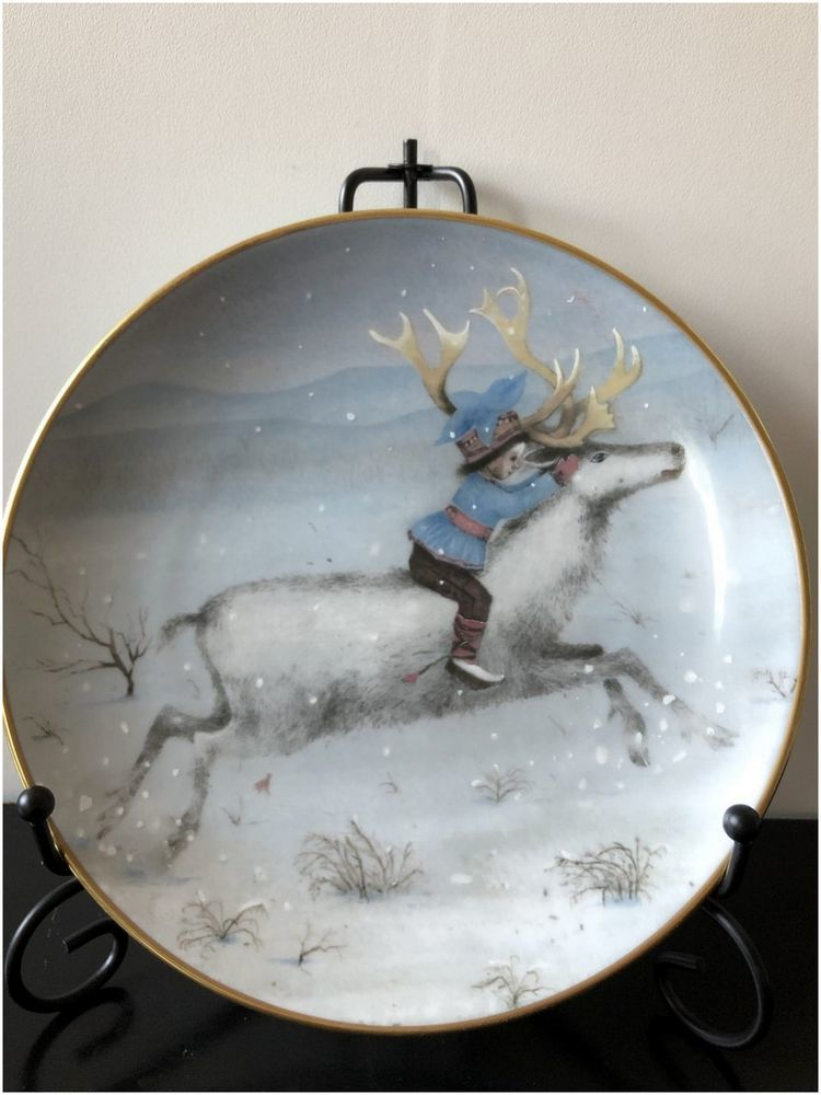 декоративные тарелки, сказки, лимитированная коллекция, синяя птица, оформление детской
