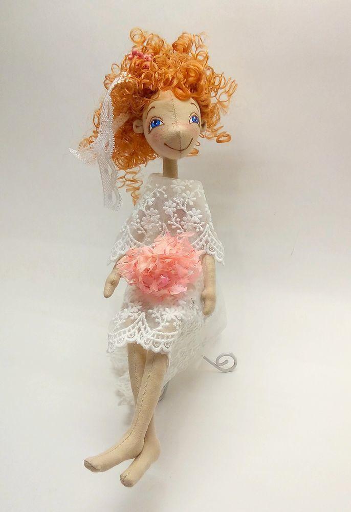 Создаем текстильную куклу на каркасе. Часть 2, фото № 4