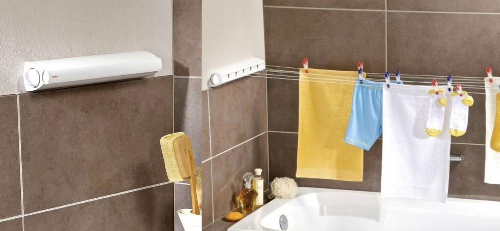 Где сушить белье в квартире красиво и удобно? (33 обычных и необычных решений), фото № 12