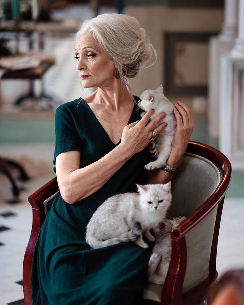 Как 64-летняя петербурженка стала моделью года, фото № 16