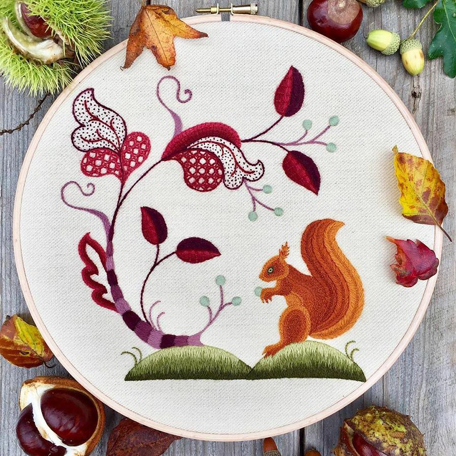 На стыке прошлого и настоящего: как британская вышивальщица возрождает культурные традиции, фото № 14