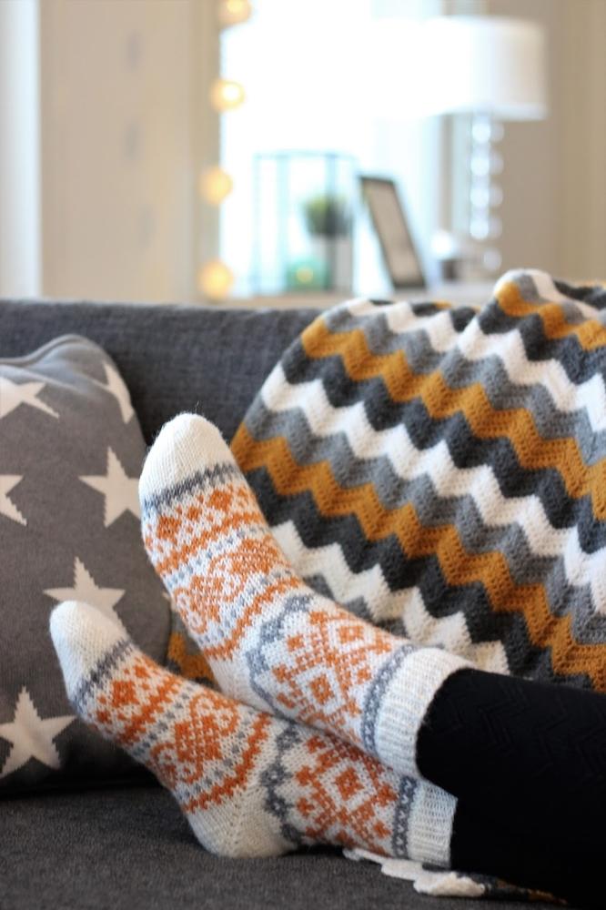 К зиме готовы! 50 идей вещей для вязания спицами, фото № 49