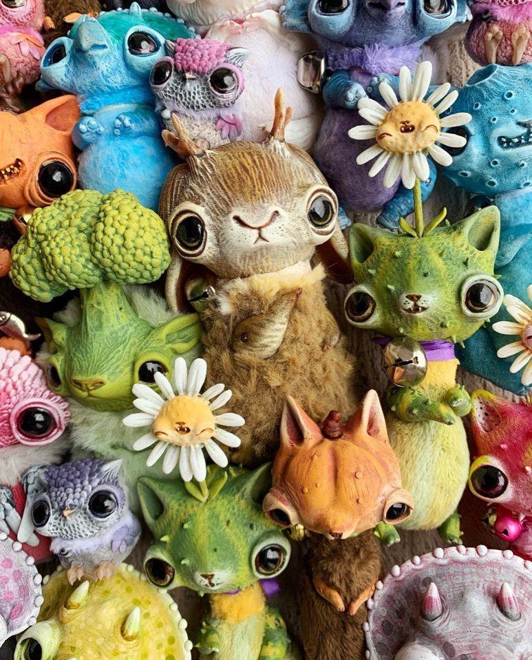 Alien Invasion Of Cuteness: 25+ Unusual Creatures By Anna Nazarenko, фото № 24
