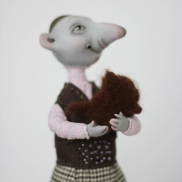 Крыс Ёся с любимым питомцем Жорой, фото № 4