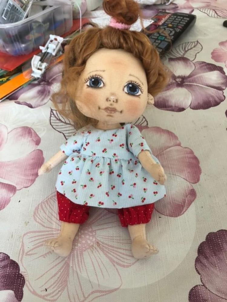 кукла из ткани, авторская выкройка