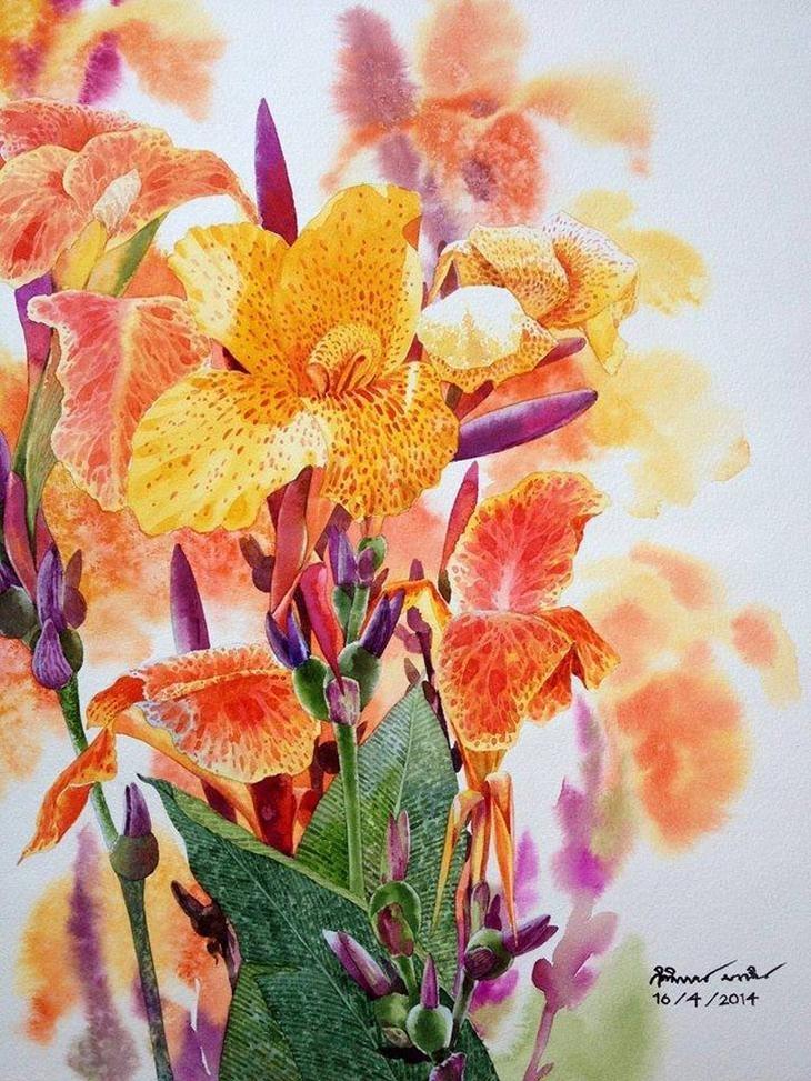 Watercolour Virtuoso: Kitipong Ti, фото № 32