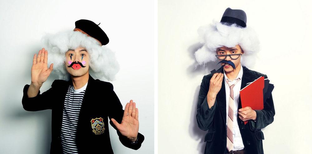 Повелитель бумаги inus ui создаёт маски и костюмы из цветного картона, фото № 42
