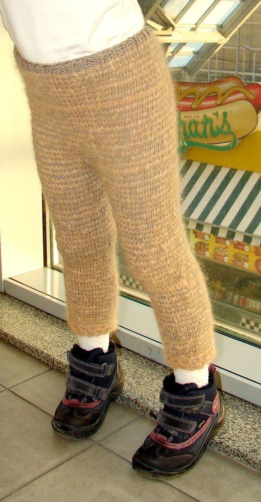 штаны из собачьего пуха