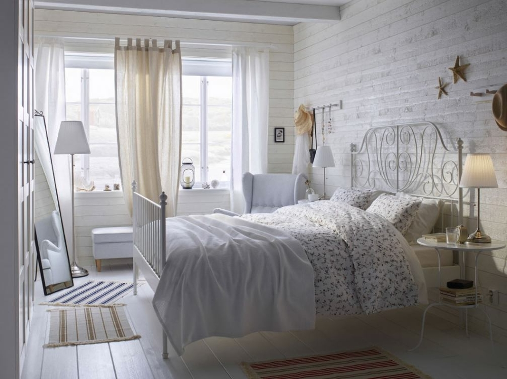Белый цвет в дачном интерьере, фото № 6