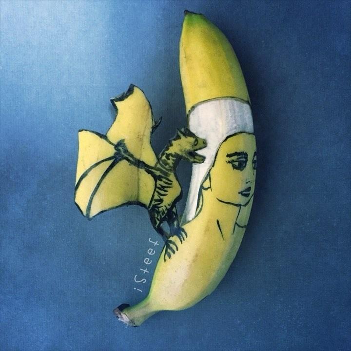 Повелитель бананов Стивен Брюче меняет наше привычное представление об этом фрукте в своём творчестве!, фото № 16