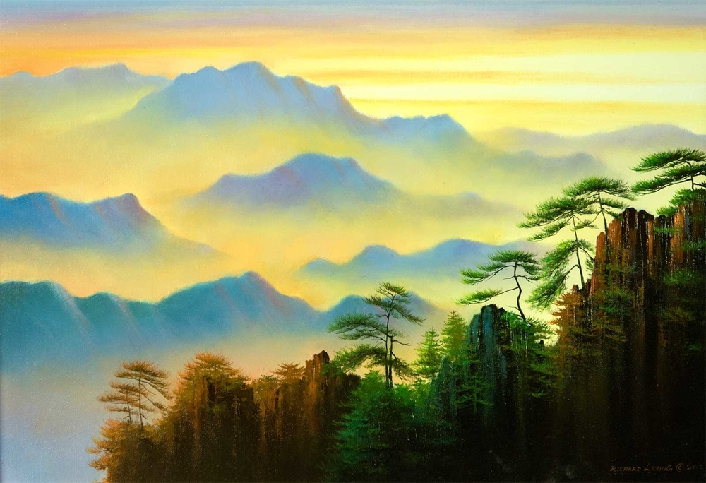 Кен Хонг Лунг — мастер волшебных пейзажей, фото № 22