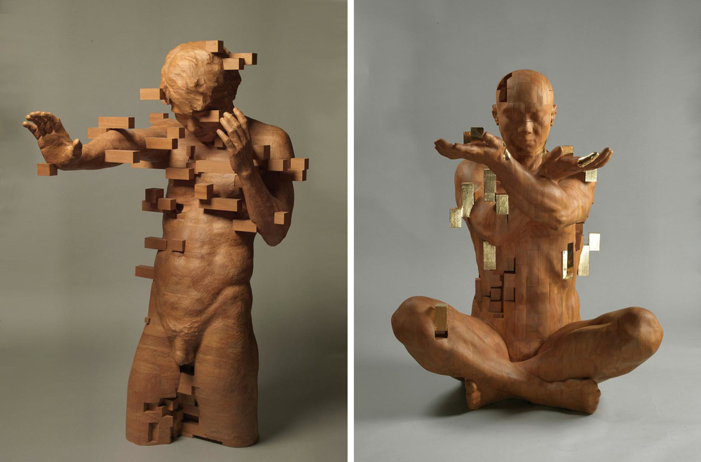Striking Wooden Sculptures By Hsu Tung Han, фото № 19