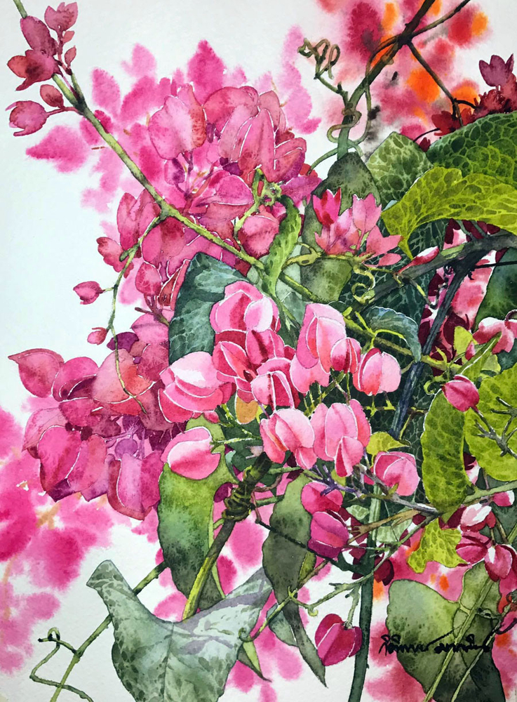 Watercolour Virtuoso: Kitipong Ti, фото № 6