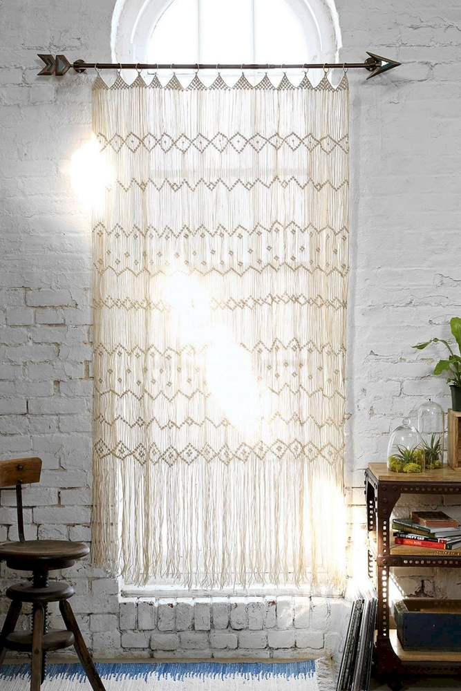 Tangled Story: 35 Ideas of Macrame in Interior, фото № 23