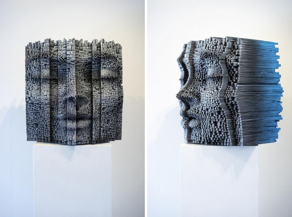 Необычные деревянные скульптуры от Джил Брювель, фото № 8