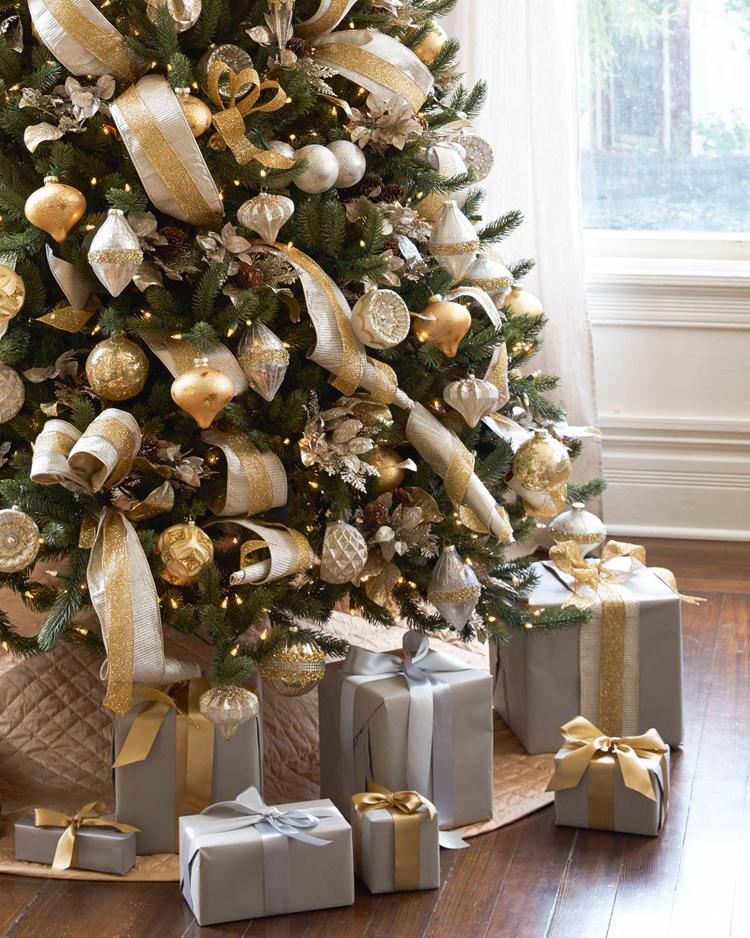 Золотой новогодний декор: 15 классных идей, фото № 41
