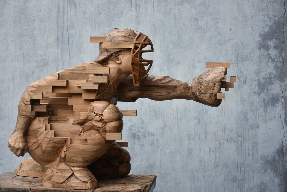 Striking Wooden Sculptures By Hsu Tung Han, фото № 12