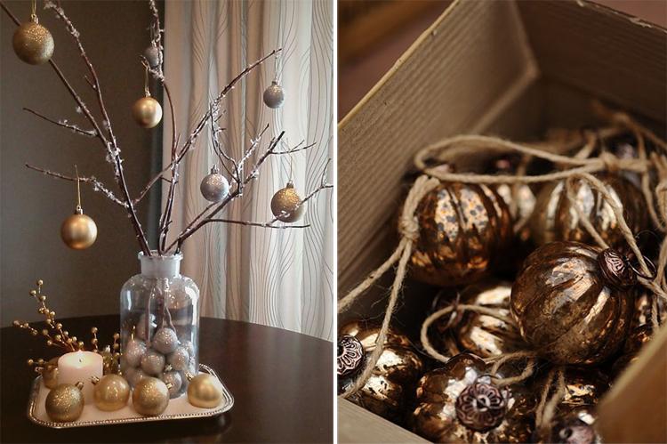 Золотой новогодний декор: 15 классных идей, фото № 13