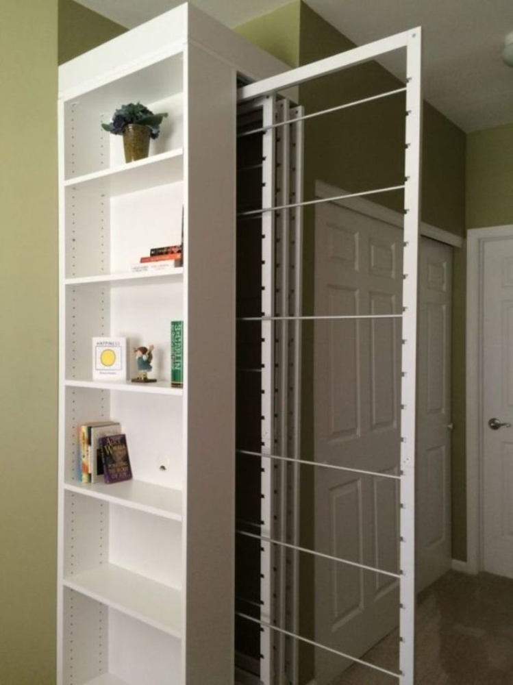 Где сушить белье в квартире красиво и удобно? (33 обычных и необычных решений), фото № 31