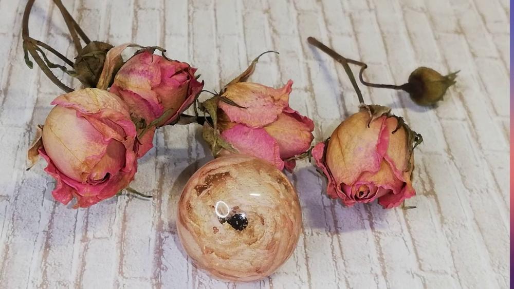 Сохраняем красоту. Роза в эпоксидной смоле, фото № 1