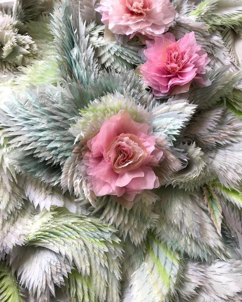 Потрясающие бумажные цветы датской художницы arianne riksen-cott ansen, фото № 33