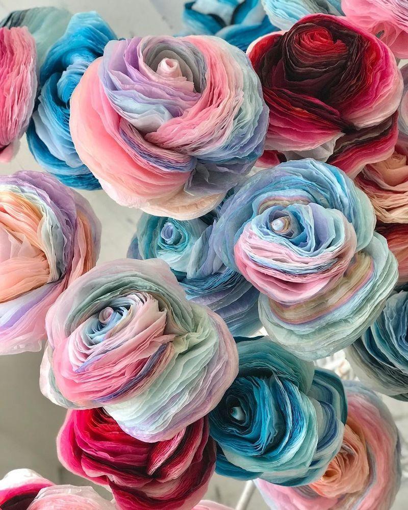 Потрясающие бумажные цветы датской художницы arianne riksen-cott ansen, фото № 38