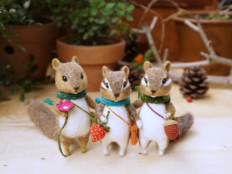 Mouse Stories: Adorable Felted Toys By Little Wool Tails, фото № 13