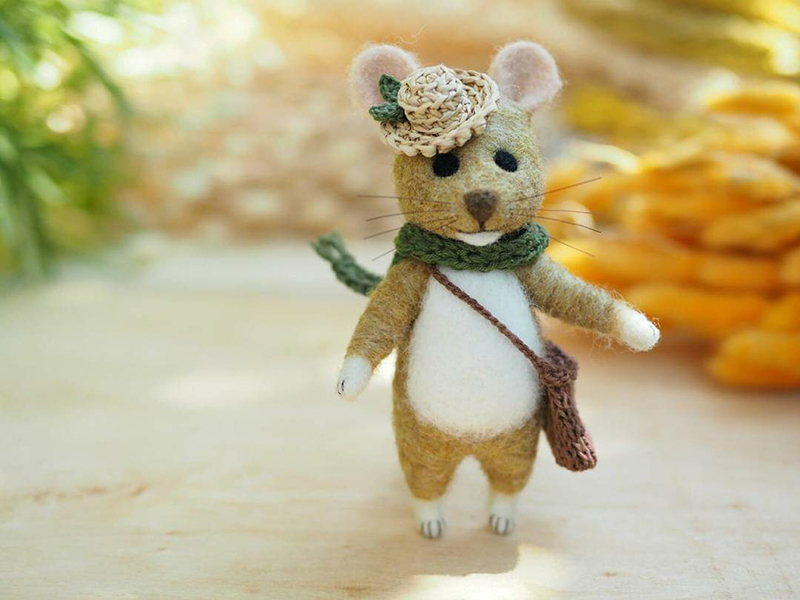 Mouse Stories: Adorable Felted Toys By Little Wool Tails, фото № 5
