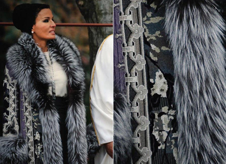 Самая модная женщина Востока. Так называют Шейху Мозу. Ее наряды и утонченный стиль, фото № 4