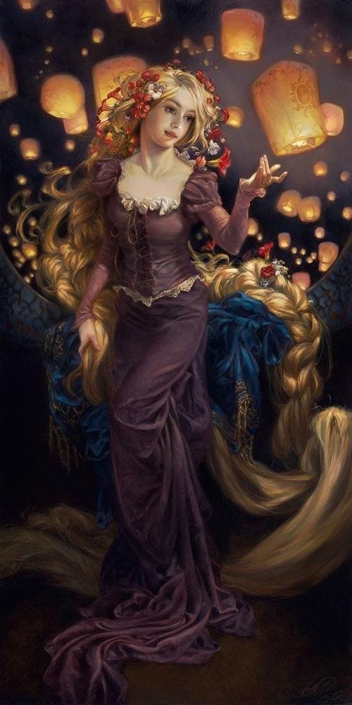 Художница нарисовала диснеевских принцесс в духе эпохи Возрождения. Что из это получилось? Смотрите и удивляйтесь, фото № 7