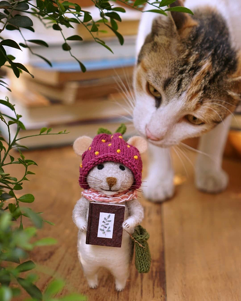 Mouse Stories: Adorable Felted Toys By Little Wool Tails, фото № 15