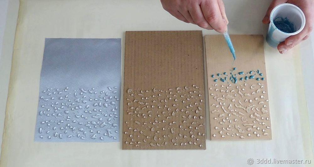 Застывший дождь, или как сделать эффект лотоса на любом материале, фото № 11