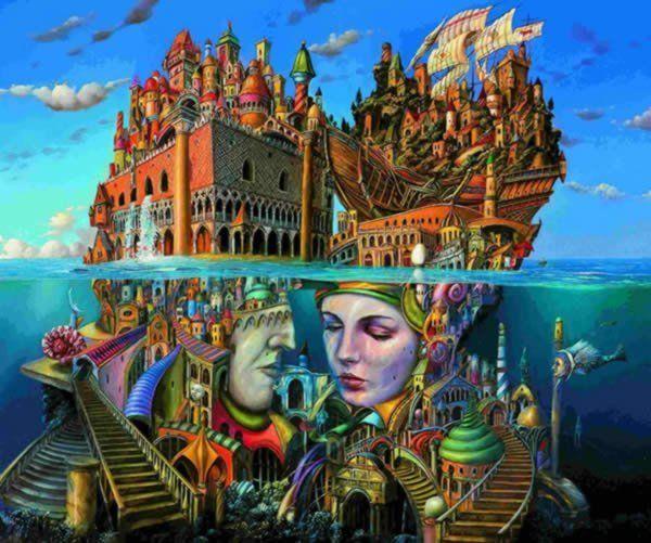 Фантасмагоричные образы из фабрики снов художника Tomasz Setowski