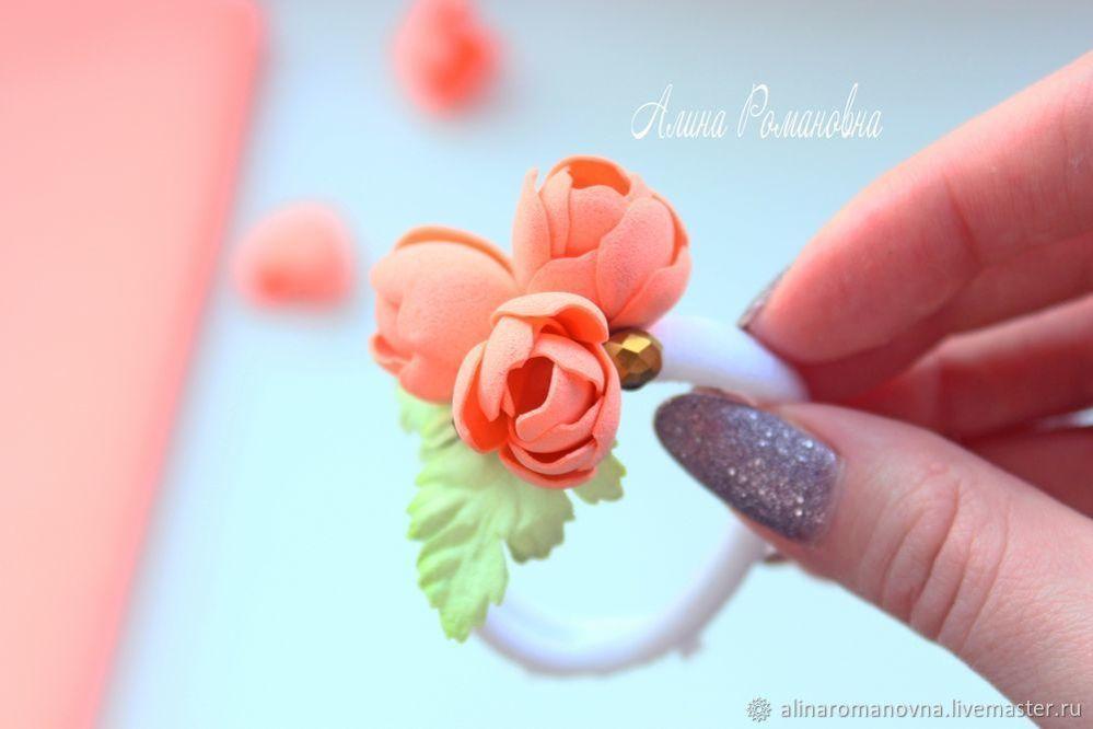 фоамиран, цветы из фоамирана, алина романовна