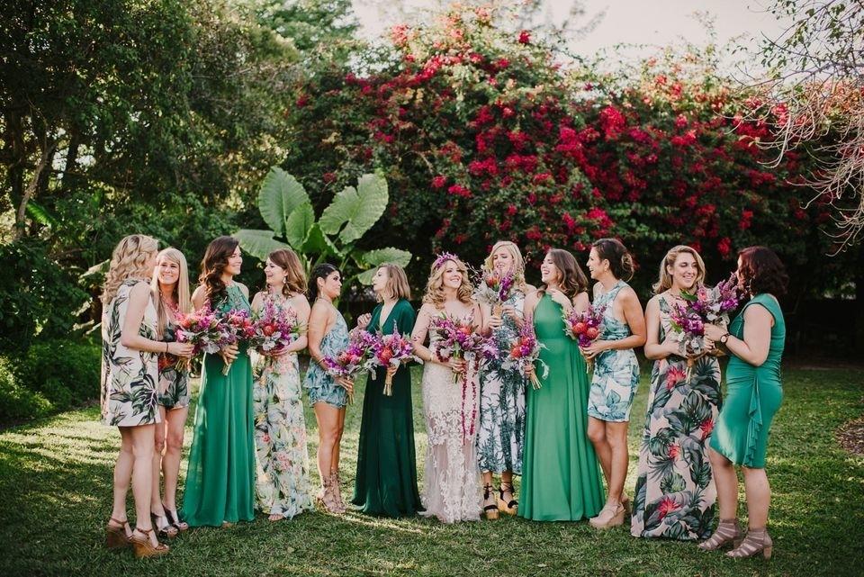 Свадебная мода: 5 трендов платьев подружки невесты 2019 года – Ярмарка Мастеров<br />
