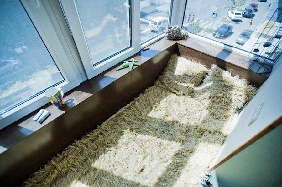 Можно ли устроить спальню на балконе: за и против, фото № 3