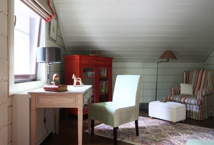 Белый цвет в дачном интерьере, фото № 9